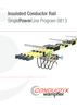 Insulated Conductor Rail SinglePowerLine Program 0813