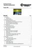 Instrukcja konserwacji - Czyszczenie szynoprzewodów Program 0800