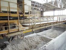 Process Crane in a ceramics factory